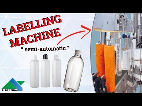 Albertina - Labelling machine Junior