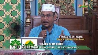 Kajian Islam Ilmiah: Roza'i Akbar S.Ag MH : ADOPSI (Fiqh Kontemporer) di Masjid Taqwa Dumai