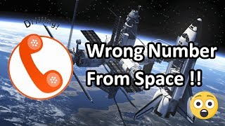An Astronaut Mistakenly Called 911 From Space : Here's What Happened Next | Science Of Space