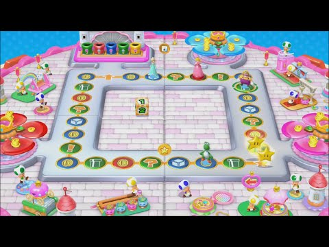 Mario Party 10 - Peach Board (amiibo Party)