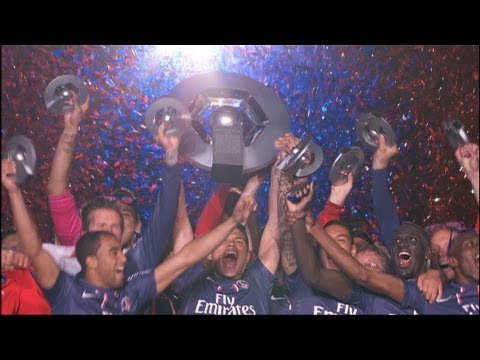 PSG French Champion 2013 - party at Parc des Princes