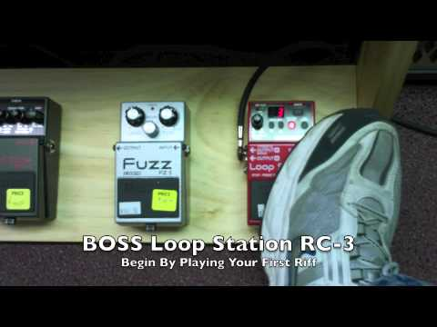 BOSS Pedals - Demo & Comparison