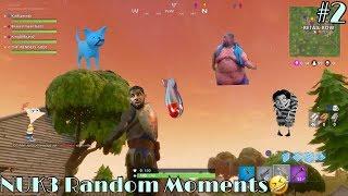 Fortnite Battle Royale- NUK3 Random Moments #2