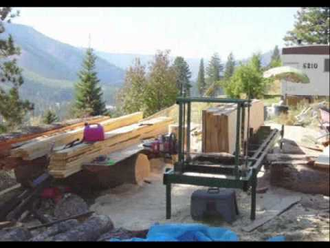 Build Your Own Chain Saw Mill at a Low Cost
