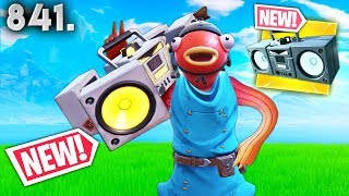 *NEW* BOOM BOX REALLY BROKEN!! - Fortnite Funny WTF Fails and Daily Best Moments Ep.841