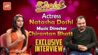 Jai Simha Actress Natasha Doshi, Music Director Chirantan Bhatt  Exclusive Interview