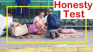 Pinoy SOCIAL EXPERIMENT: Honesty Test (Homeless)