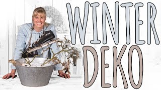 WINTER DEKO - DAS HAUS AM SEE - DIY