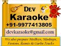 Khubsoorat Hasina  Mr  X In Bombay   Kishore Kumar & Lata M Digital Karaoke by Dev
