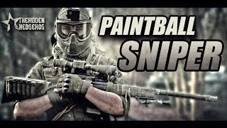 WOODLAND SNIPER: paintball Sniping in the woods.