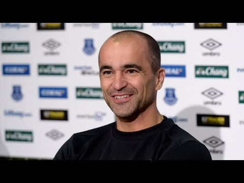 Roberto Martinez pre-Liverpool press conference