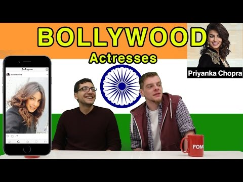 American Guys React to Bollywood Female Celebrities