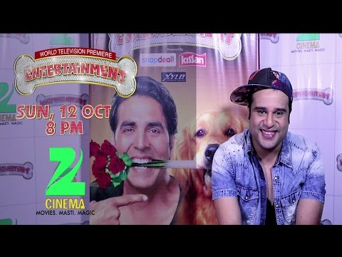 Watch Krushna's Hilarious Dialogues from Entertainment on Zee Cinema 12 Oct @ 8 PM