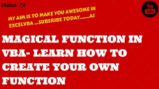 Learn Excel- Video 73- Magical VBA Function- Using Left,Right,Instr,InstrRev