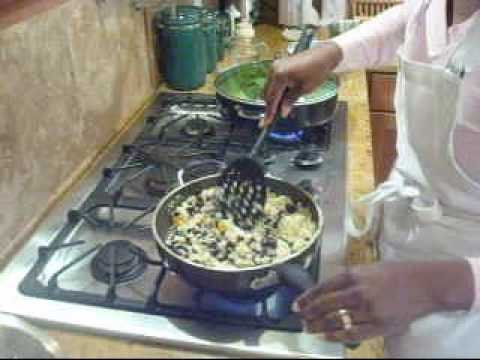 Rice with Black Beans Healthy Soul Food Recipes from the Joy of Soul Food, Chef Pamela Holmes
