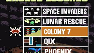 [MAME] Radica Space Invaders 5-in-1 TV Game (video mostly correct)