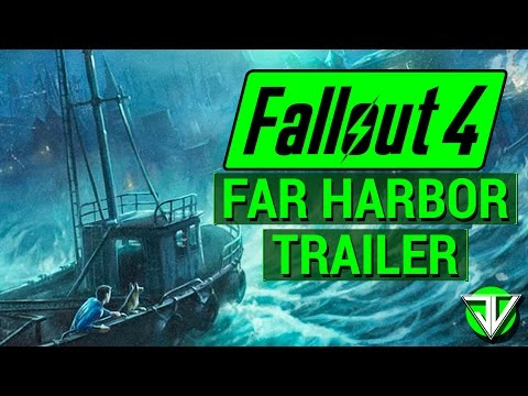FALLOUT 4: NEW Far Harbor DLC TRAILER and RELEASE DATE Announced! (Official Details and Analysis)