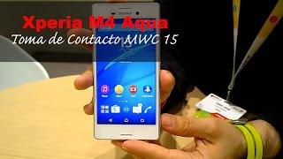 Sony Xperia® M4 Aqua: Toma de Contacto (en español)