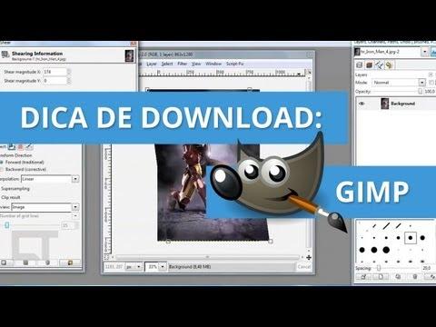 Dica de Download: GIMP, o Photoshop gratuito