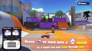 [Splatoon Demo] Tutorial Gameplay