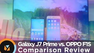 Samsung Galaxy J7 Prime vs. OPPO F1S Comparison Review