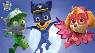 Paw Patrol Transforms into PJ Masks - Chase Sky Rubble Transform into Gekko Catboy Owlette
