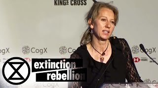 Dr. Gail Bradbrook - CogX London [June 2019]  Extinction Rebellion