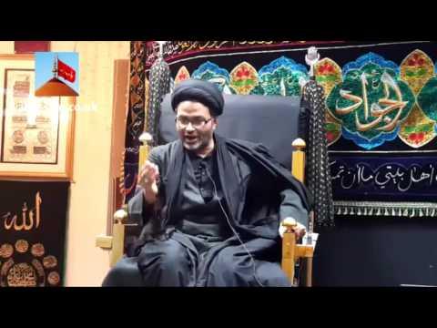 Maulana Qambar Ali Rizvi   Hussainia Imambargah - Birmingham (UK) - 12th November 2015