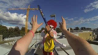 KILLER CLOWN VS PARKOUR POV