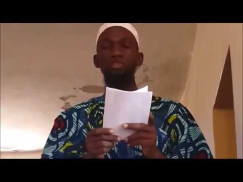 Sermon-Dis la Louange appartient à Allah Oustaz Niang Mbaye