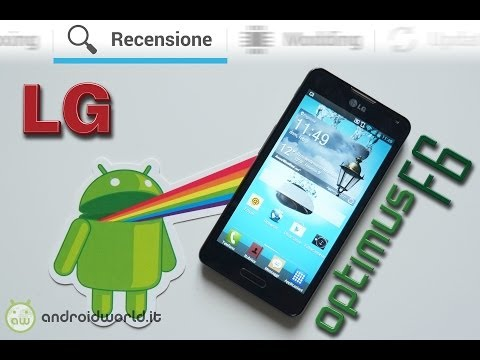 LG Optimus F6. recensione in italiano