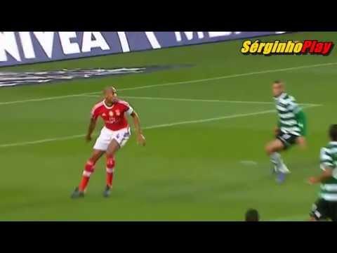 O Golo de Islam Slimani - Benfica x Sporting 0-3 JORNADA 8 - 25/10/2015