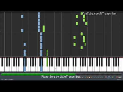 Carly Rae Jepsen - Call Me Maybe (piano Cover) By Littletranscriber video
