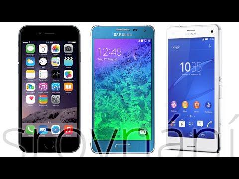 Apple iPhone 6 vs. Samsung Galaxy Alpha vs. Sony Xperia Z3 Compact (srovnání)