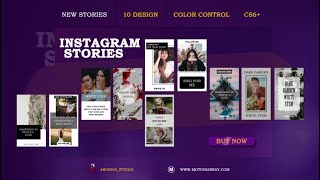 New Instagram Stories After Effects Templates