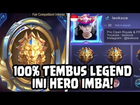 100% KALIAN PASTI LEGEND KALAU PAKAI HERO INI! - Mobile Legends Indonesia