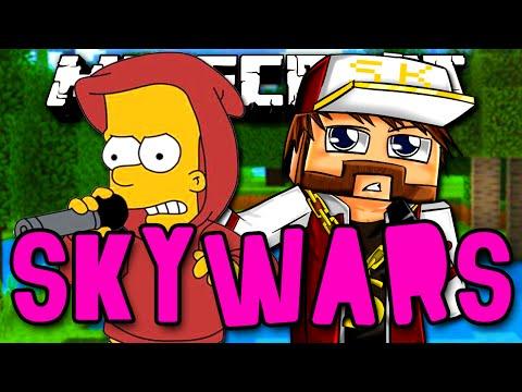 SKYWARS - KAZZIO E BART CONTRA O MUNDO!! :O - Minecraft