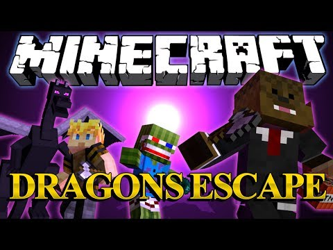 ENDER DRAGON RAMPAGE Minigame w Bashur and GoldSolace