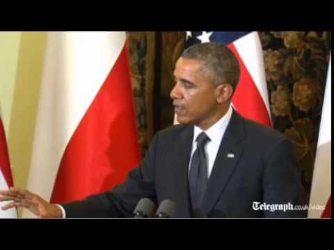 Barack Obama earmarks1 billion dollars to boost US military presence in Europe