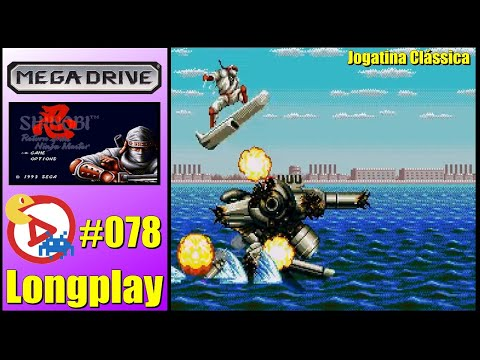 Mega Drive Longplay Shinobi III: Return of the Ninja Master