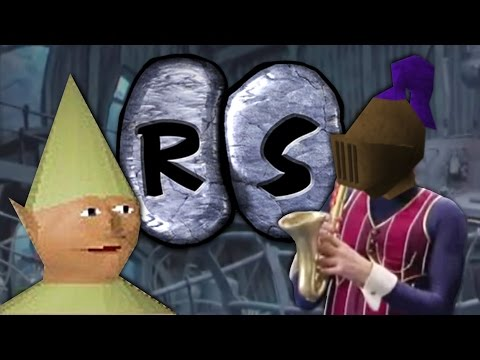 We Are Number One but it's a RuneScape music video