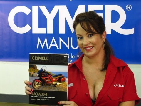 Clymer Manuals Honda ST1100 ST1100A Pan European Shop Service Maintenance Repair Manual Video