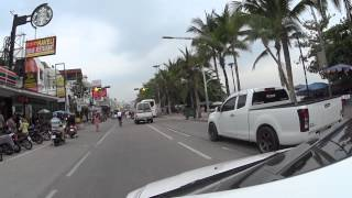 Cycling Pattaya Central festival to Jomtien cafe 1