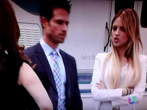 Nikki le hace un escena de celos a guzman