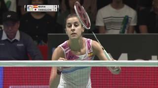 Daihatsu Yonex Japan Open 2017 | Badminton QF M1-WS | Carolina Marin vs Akane Yamaguchi