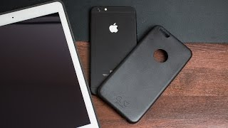 Glaz Displayschutz 2.0 / Case / iPad Air Review + Matt Schwarzes iPhone mit iGlow