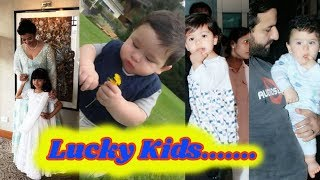 Lucky Kids.....| Top 16 Wealthiest Bollywood star and Their Kids