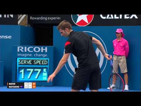 Florian MAYER (GER) vs Marinko MATOSEVIC (AUS) FULL MATCH, Apia International Sydney 2014