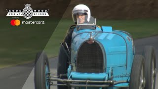 90-year-old Bugatti Type 35 thrown up FOS hill