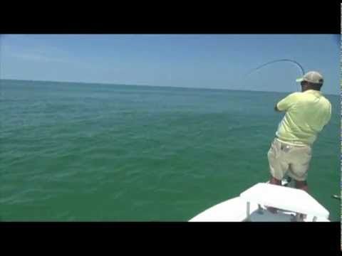 June Poon Afternoon: Fly Fishing for Giant Tarpon in Boca Grande, FL